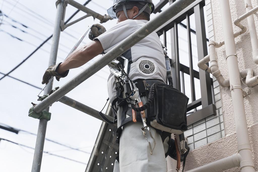 足場工事は危険な仕事?